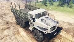 O veículo de Ural-4320 para Spin Tires