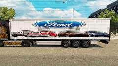 Pele Ford v2.0 cortina semi-reboque para Euro Truck Simulator 2