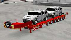 Baixa varrer com carros Hummer para American Truck Simulator