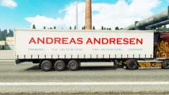 Pele Andreas Andresen na cortina semi-reboque para Euro Truck Simulator 2