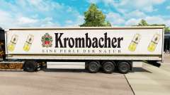 Pele Krombacher em uma cortina semi-reboque para Euro Truck Simulator 2