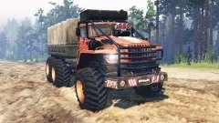 Ural-4320 Explorador Polar v14.0 para Spin Tires