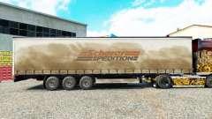 Pele Spedition Scherer em uma cortina semi-reboque para Euro Truck Simulator 2