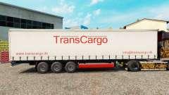 TransCargo pele para cortina semi-reboque para Euro Truck Simulator 2
