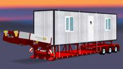 Baixa varrer com uma carga cabines para Euro Truck Simulator 2