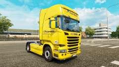 Correios pele para o Scania Streamline caminhão para Euro Truck Simulator 2
