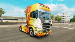 Chama pele para o Scania truck para Euro Truck Simulator 2