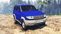 UAZ-3163 dns_event_unknown_service_port Patriota turbodiesel para Spin Tires