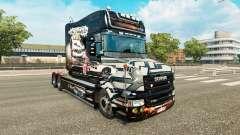 Pele NFS Most Wanted para o caminhão Scania T para Euro Truck Simulator 2