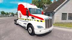 Ghostbusters pele para o caminhão Peterbilt 579 para American Truck Simulator