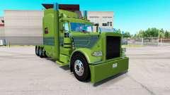 Pele Sopa de Ervilha para o caminhão Peterbilt 389 para American Truck Simulator