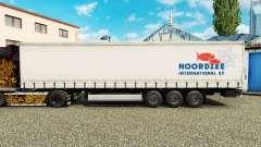 Pele Noordzee em uma cortina semi-reboque para Euro Truck Simulator 2