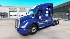 Pele Policia Federal no trator Kenworth T680 para American Truck Simulator