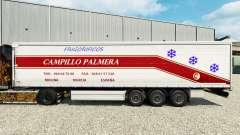 Pele Campillo Palmera em uma cortina semi-reboque para Euro Truck Simulator 2