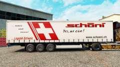 Pele Schoni em uma cortina semi-reboque para Euro Truck Simulator 2