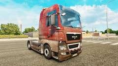 A pele Suja no caminhão HOMEM para Euro Truck Simulator 2