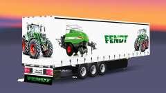 Cortina semi-reboque Schmitz Cargobull Fendt v2.0 para Euro Truck Simulator 2