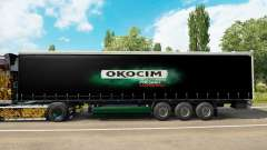 Pele Okocim em uma cortina semi-reboque para Euro Truck Simulator 2