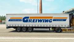 Pele Greiwing em uma cortina semi-reboque para Euro Truck Simulator 2