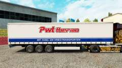 Pele PWT Termo em uma cortina semi-reboque para Euro Truck Simulator 2