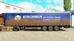 Pele Kirchner, em uma cortina semi-reboque para Euro Truck Simulator 2