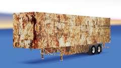 Pele Enferrujado em refrigerada com semi-reboque para American Truck Simulator