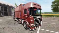 Scania R730 chassis para Farming Simulator 2017