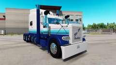 Pele Blur Linha no caminhão Peterbilt 389 para American Truck Simulator