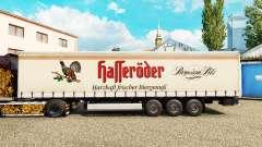 Pele Halleroder em uma cortina semi-reboque para Euro Truck Simulator 2