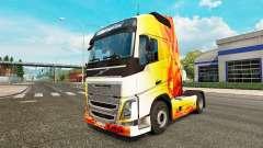 Chama pele para a Volvo caminhões para Euro Truck Simulator 2