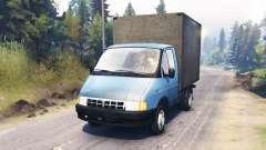 GAZ-3302 Gazela para Spin Tires