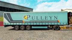 Pele Pulleyn em uma cortina semi-reboque para Euro Truck Simulator 2