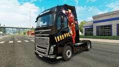 Homem de ferro pele para a Volvo caminhões para Euro Truck Simulator 2