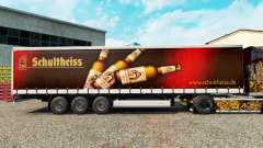 Pele Schultheiss em uma cortina semi-reboque para Euro Truck Simulator 2