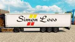 Simon Loos pele cortina semi-reboque para Euro Truck Simulator 2
