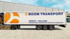 Pele Boom de Transporte no semi-reboque cortina para Euro Truck Simulator 2