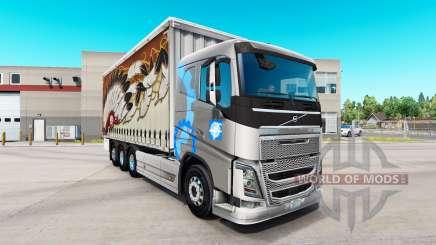 Volvo FH16 tandem para American Truck Simulator