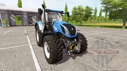 New Holland T7.290 dual wheels para Farming Simulator 2017