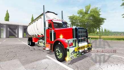 Peterbilt 388 water tanker para Farming Simulator 2017