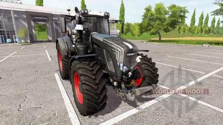 Fendt 936 Vario black beauty v1.1.1 para Farming Simulator 2017