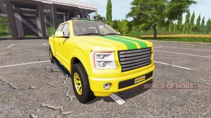 Lizard Pickup TT Service v1.4 para Farming Simulator 2017
