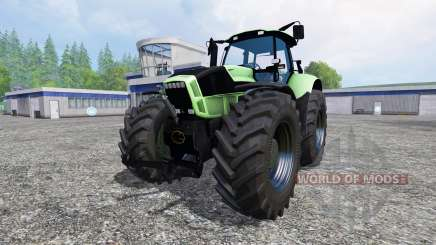 Deutz-Fahr Agrotron X 720 black wheels para Farming Simulator 2015