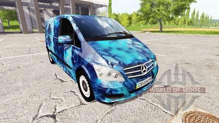 Mercedes-Benz Viano Kryptek para Farming Simulator 2017