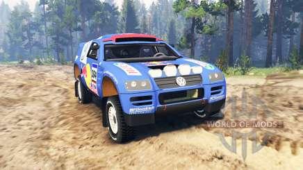 Volkswagen Touareg Dakar Rally para Spin Tires