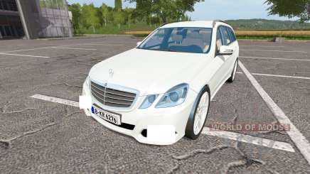 Mercedes-Benz E350 CDI Estate (S212) para Farming Simulator 2017