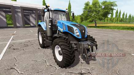 New Holland T8.380 v1.1 para Farming Simulator 2017