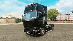 Pele de dragão para o caminhão Scania para Euro Truck Simulator 2