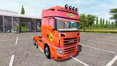 Scania R700 Evo colas para Farming Simulator 2017