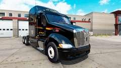 Peles no trator Peterbilt 387 para American Truck Simulator