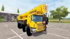 Scania P420 Liebherr LTF 1060 para Farming Simulator 2017